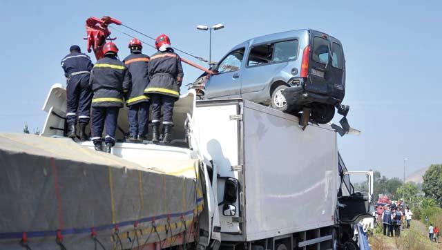 Accidents de la route : 8 morts et 5 blessés graves en moins de 24h