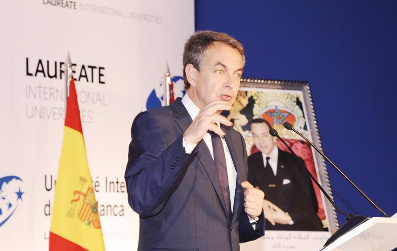 Zapatero chez l'UIC: L'entreprise est le garant d'un tissu social uni