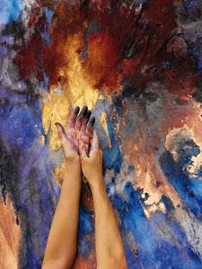 Exposition de peinture en Sicile aux couleurs du Maroc