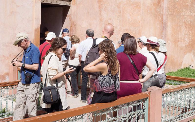 Maroc: 8 millions de touristes en 9 mois