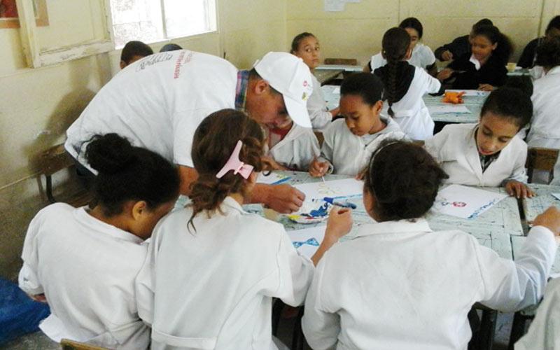 Opération Back To School: Redonner le sourire à 6.000 écoliers