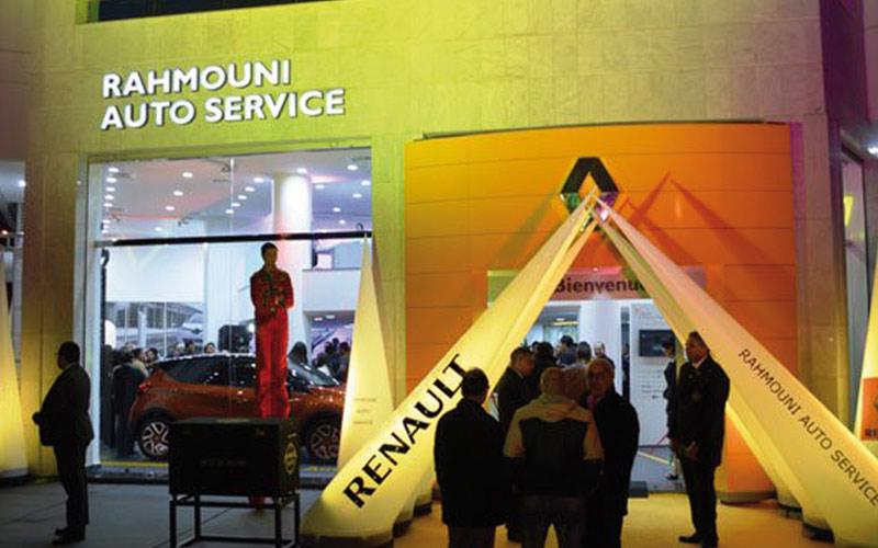Renault : Un nouveau showroom à Casablanca