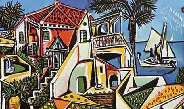 œuvre du grand artiste espagnol Pablo Picasso