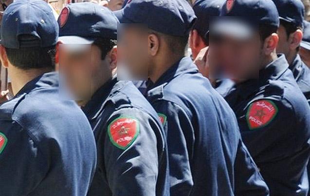 Six policiers suspendus dans  plusieurs villes
