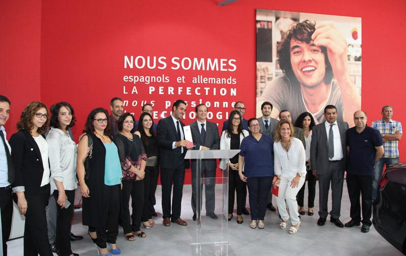 Seat: Un nouveau showroom à Casablanca