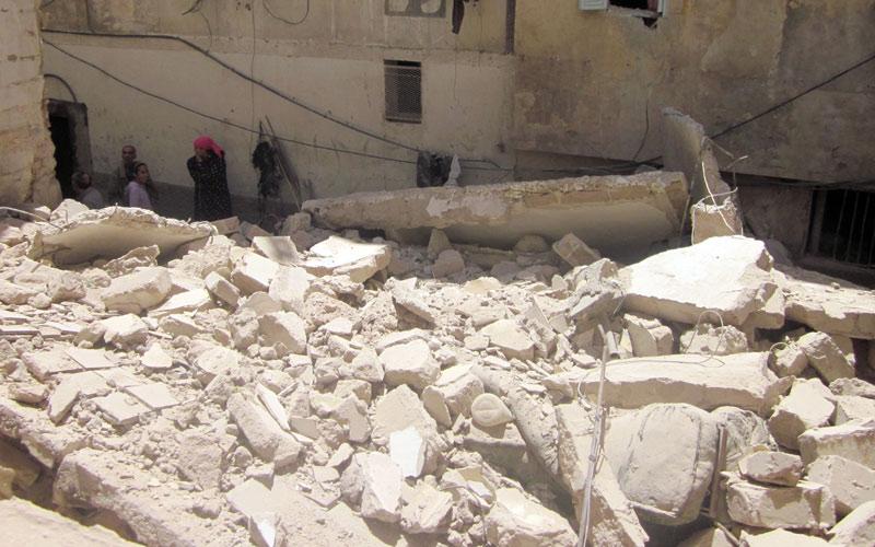 Quatre blessés graves dans l'effondrement d'une maison à Marrakech