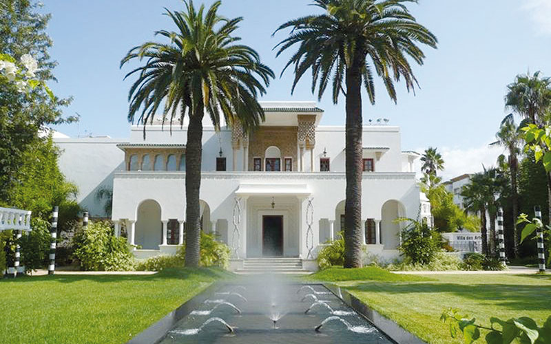 Séjour sensorialité à la Villa  des Arts de Rabat
