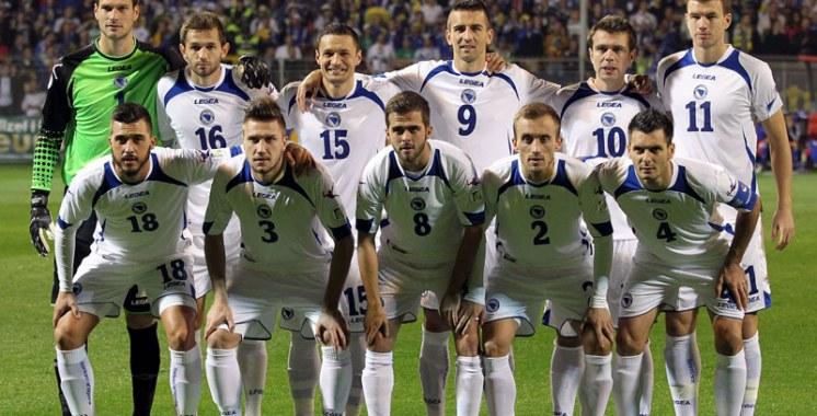 Coupe du monde 2014 : Equipe de la Bosnie-Herzégovine