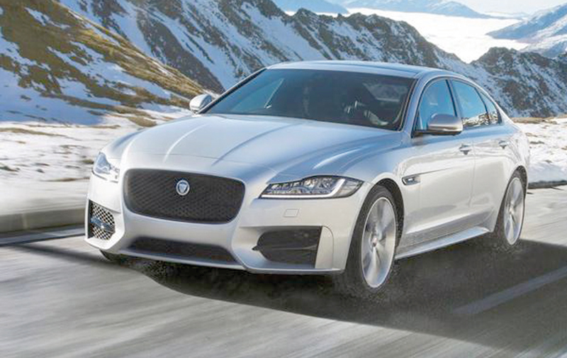 Le Jaguar XF aura 4 roues motrices en 2017 !