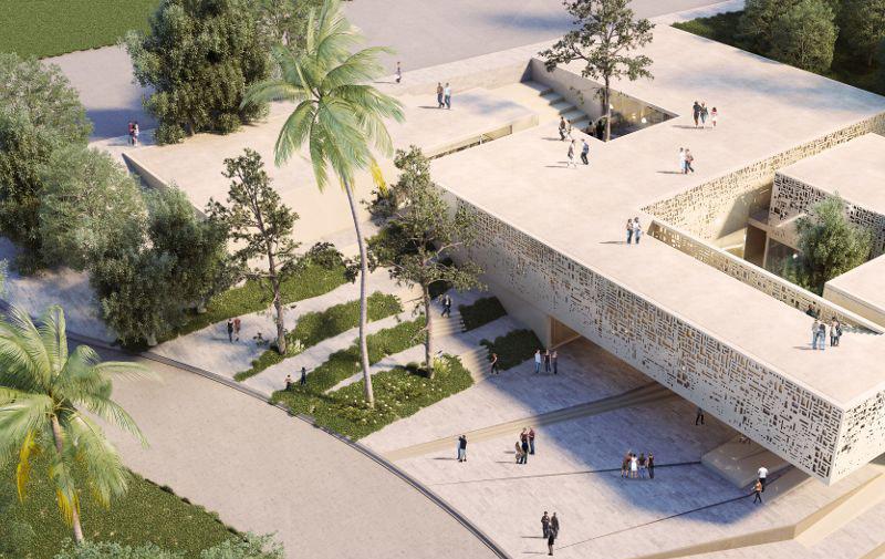 Maison de l'architecture de Tanger: L'identité culturelle contemporaine repensée