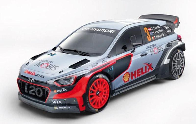 Hyundai : Un refresh pour  la i20 WRC