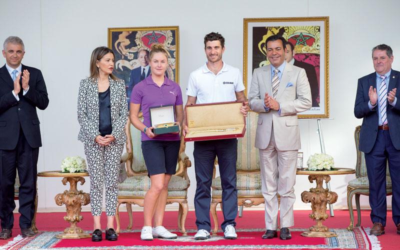 41e Trophée Hassan II et 20e Coupe Lalla Meryem de golf, Alejandro Canizares et Charley Hull haut la main