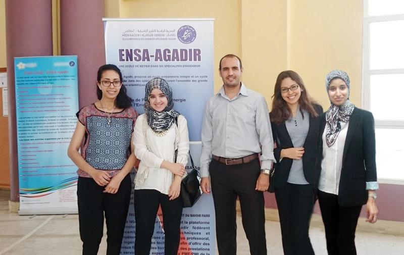 Chaîne logistique: Les girls de l'ENSA finalistes à un prestigieux concours à Los Angeles