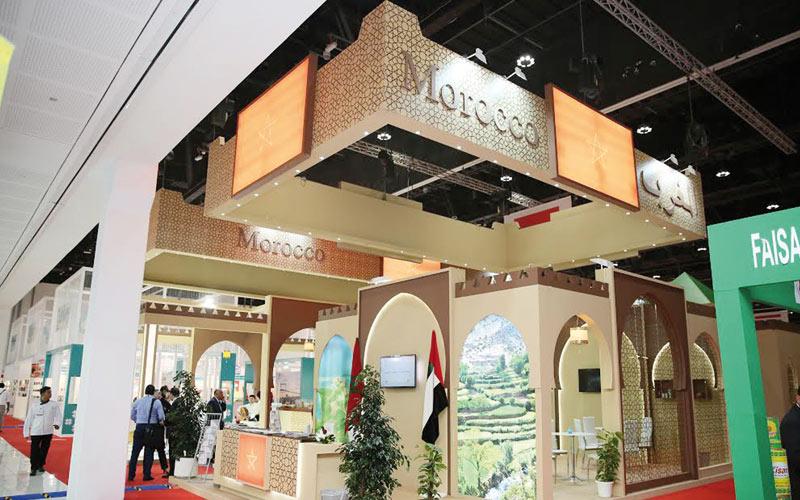 Participation de l'Agence pour le développement agricole au SIAL Middle East 2014: Le pavillon Maroc a brillé