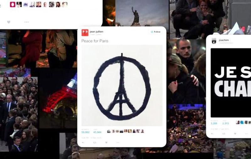 Twitter : Une année 2015 marquée par  le terrorisme