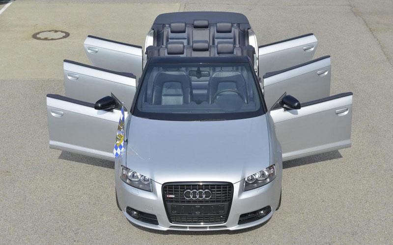 Insolite : Un Audi A3 cabrio  à 6 portes ? ça existe !