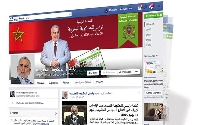 Benkiran en mode «facebooker»