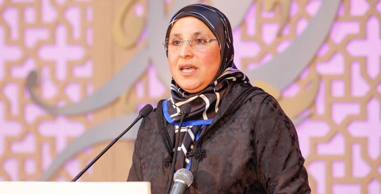 Bassima Hakkaoui, ministre de la solidarité, de la femme, de la famille et du développement social