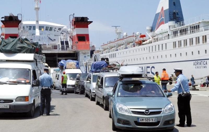 Un pic d'affluence des MRE au port Tanger-Med