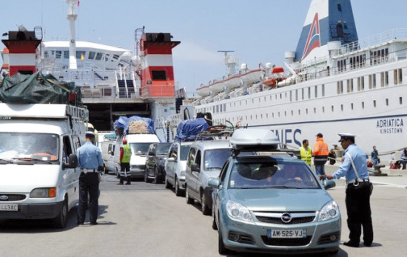 «Marhaba 2015» : Plus de 20.000 MRE ont transité par Bab Sebta