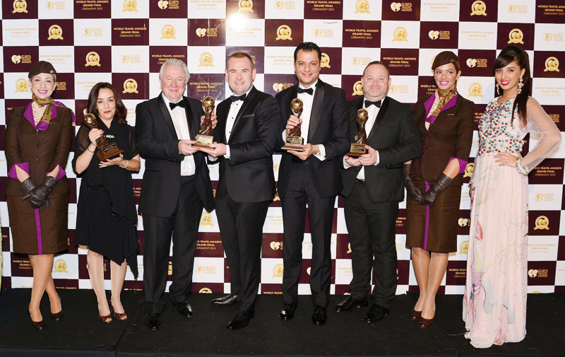 World Travel Awards : Etihad Airways primée