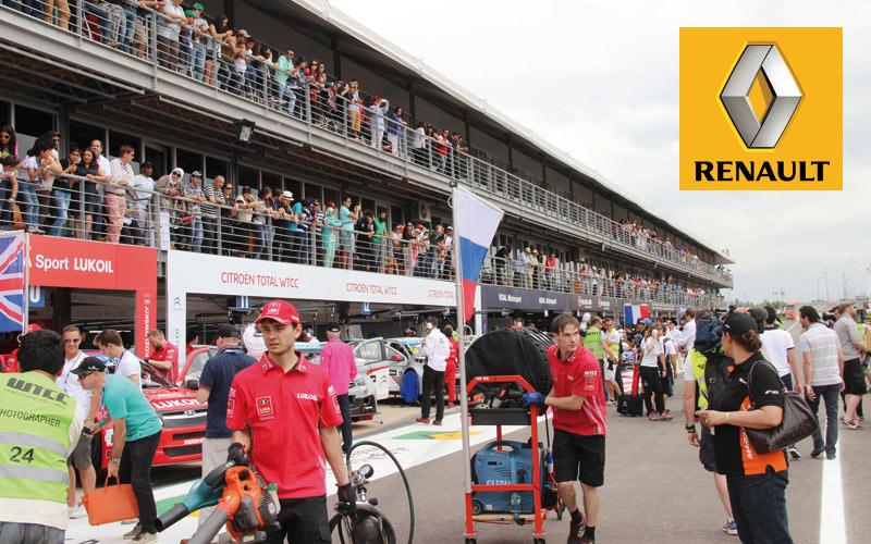 Renault: Le losange sera le partenaire officiel du WTCC Marrakech