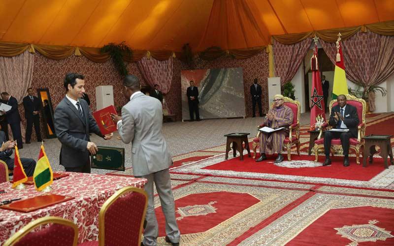 Coopération maroco-guinéenne : Une vingtaine d'accords parafés lundi
