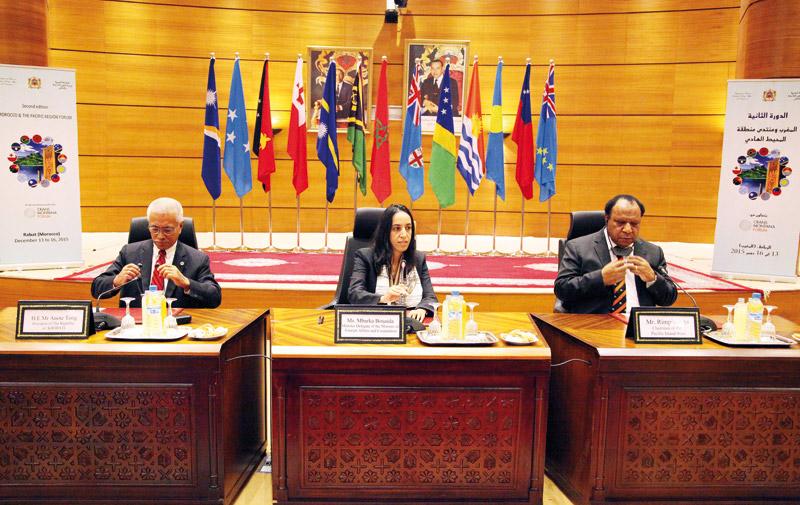 Le Maroc tend la main aux Etats des îles  du Pacifique