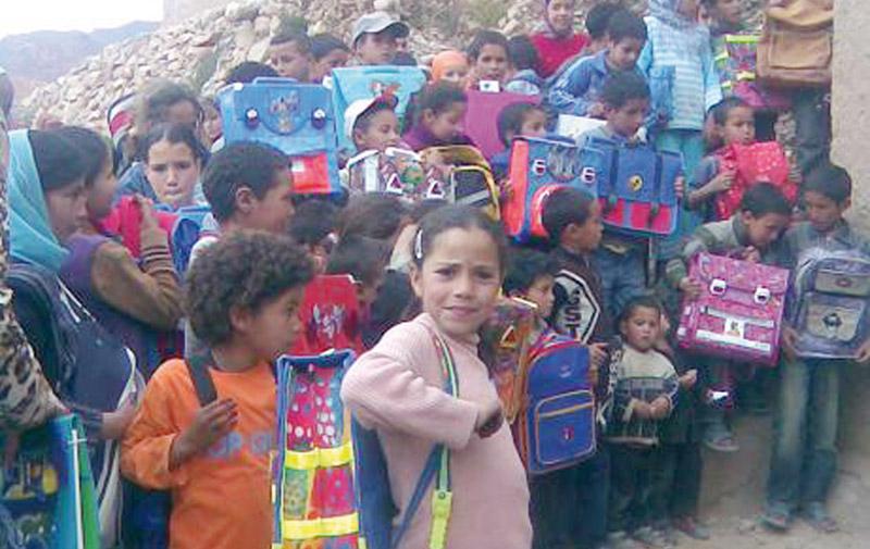 Laâyoune : 8.275 bénéficiaires de l'opération  «Un million de cartables»