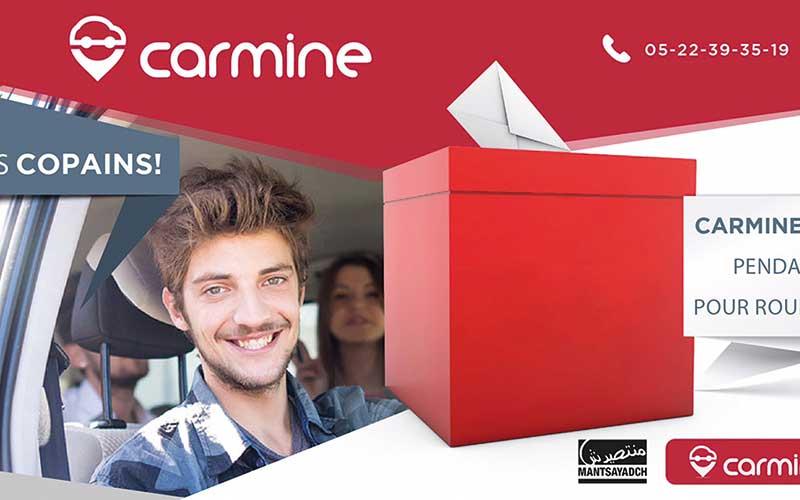 Carmine offre des voitures  pour aller voter