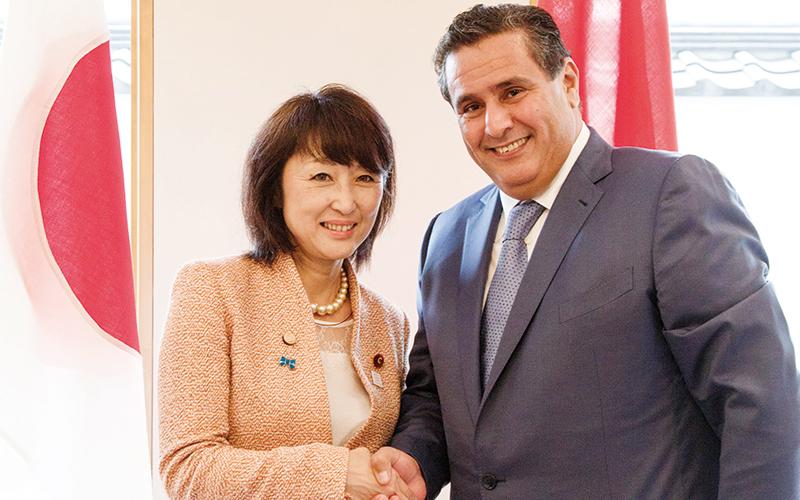 Aziz Akhannouch en visite de travail au Japon