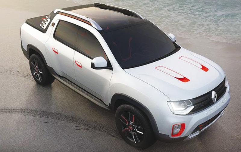 Renault aura son SUV pick- up dans quelques jours !
