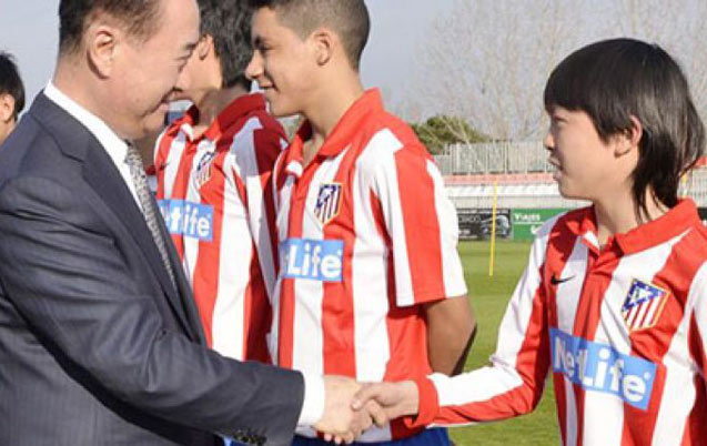 L'Atletico Madrid intéresse un milliardaire chinois