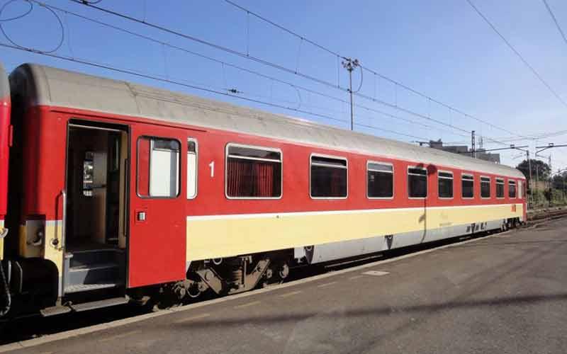 ONCF : un fil de fer derrière l'arrêt d'un train entre Aïn-Sebâa et Casa-Port