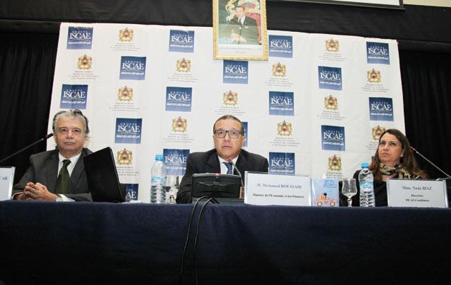 Rencontre à l'Iscae: Boussaid décortique la loi de Finances