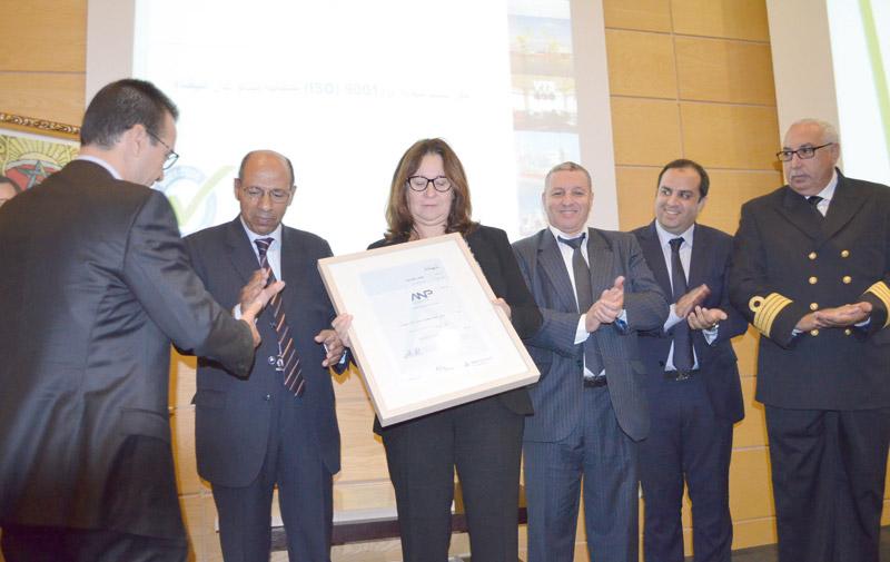 Port de Casablanca: Le département Capitainerie  certifié ISO 9001