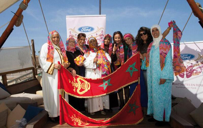 Lutte contre le cancer de sein : Ford se mobilise au Maroc