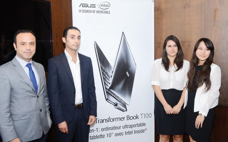 ASUS passe à l'ultra performance: Le Transformer Book T100 et le le Fonepad 7 au Maroc