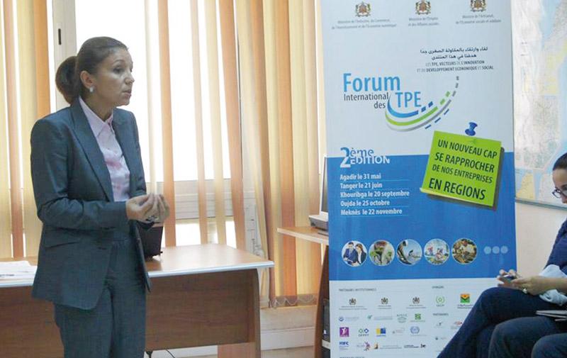 3ème édition du Forum international des Très petites entreprises: La création d'entreprise pour contrer la crise