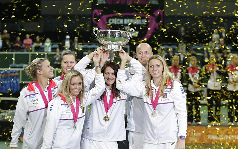 Tennis : La République tchèque remporte la Fed Cup 2014