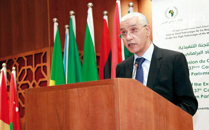 Union parlementaire africaine: Talbi Alami élu président