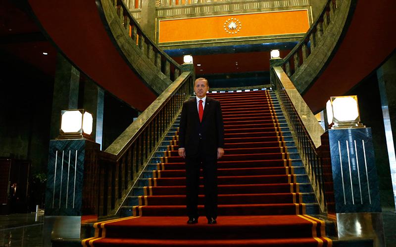 Turquie : Erdogan s'offre un palais à 350 millions de dollars