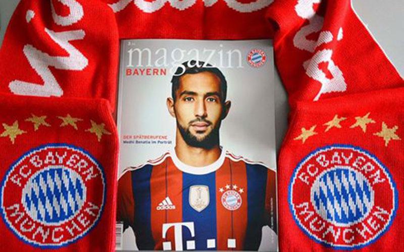 Benatia fait la Une du magazine du Bayern Munich