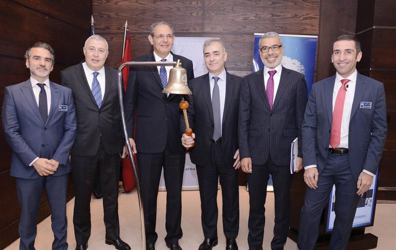 Cérémonie de première cotation à la Bourse  de Casablanca: AFMA commence fort