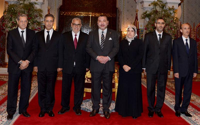 Quatre nouveaux ministres font leur entrée au gouvernement Benkirane