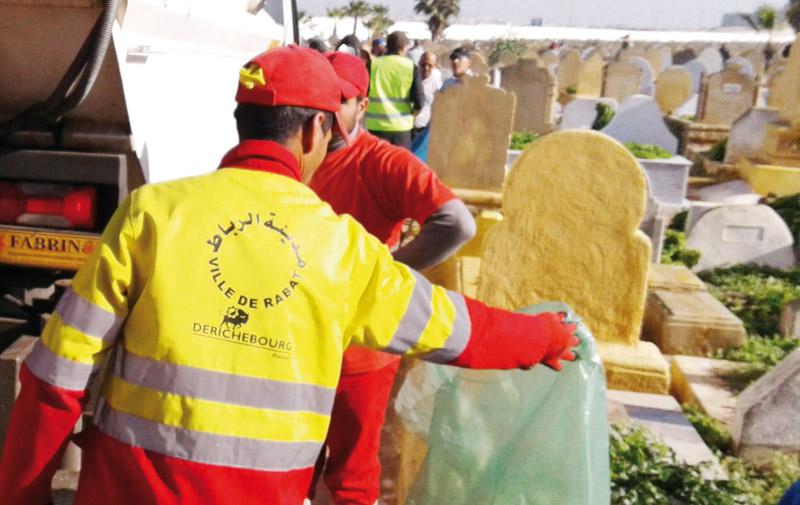 Solidarité: Le cimetière Achouhada retrouve des couleurs