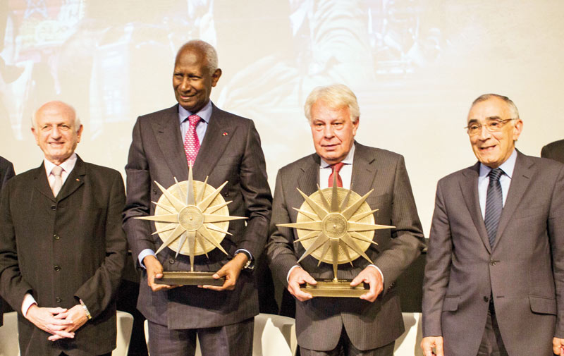 Prix Averroès: Abdou Diouf et Felipe Gonzalez Marquez  primés à Marrakech