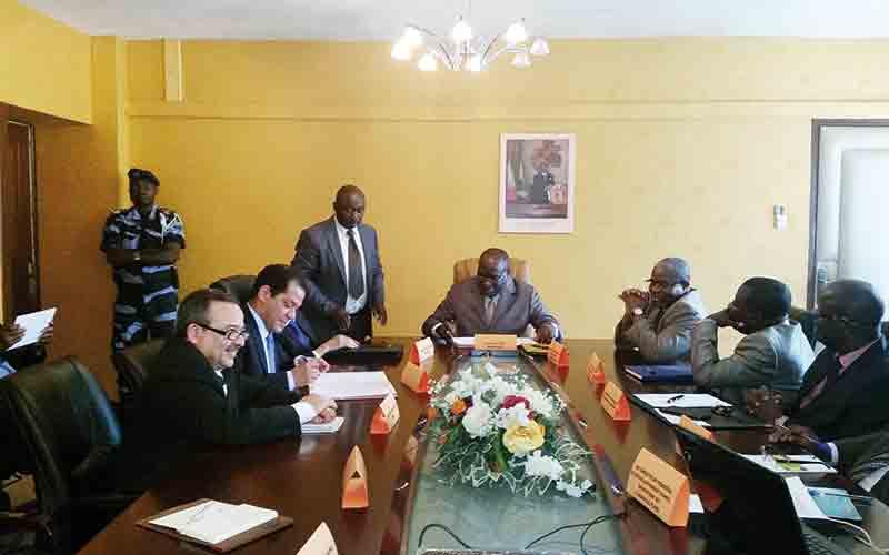 Medz signe une convention avec le gouvernement gabonais
