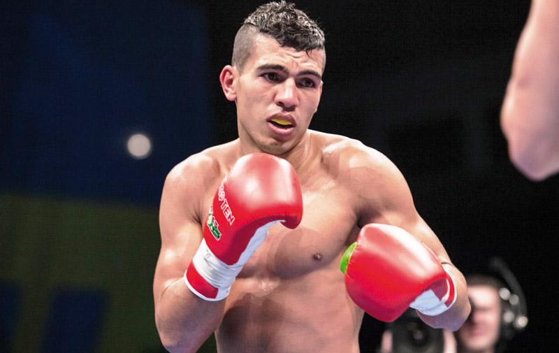 Mondiaux de boxe : Mohamed Rabii qualifié en demi-finale