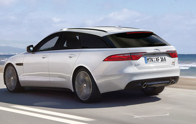 Jaguar XF : Une version break?